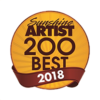 Sunshine Artist Best of 2018 - 61st Annual Art On Main Festival in Hendersonville, NC